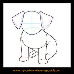 how to draw dog 2