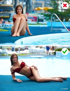 48 ideas for photography friends poses beach pictures Best Photo Poses, Picture Poses, Photo Tips, Poses For Pictures, Beach Pictures, Vacation Pictures, Proportions Du Corps, Poses Pour Photoshoot, Strand Pool