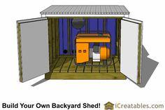 Elegant Generator Shed Design Generator Shed Design - This Elegant Generator Shed Design design was upload on October, 2 2019 by Erwin Shields. Here latest Generator Shed Design de.