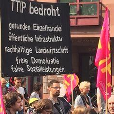 TTIP und CETA bedrohenden Einzelhandel. Demo gegen CETA und TTIP in Köln! Stoppt Den Demokratieabbau! #ttip #ceta #stoppttip #stopttip #stopceta #köln #demo #stopcetattip