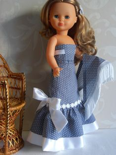 American Doll Clothes, Girl Doll Clothes, Girl Dolls, Wellie Wishers, Barbie Dress, Doll Crafts, Reborn Dolls, Baby Sewing, Covet Fashion