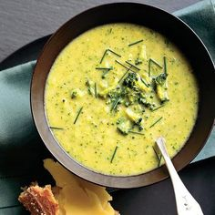 Broccoli Leek Soup (vegetarian): Fresh leeks and broccoli — two often overlooked vegetables come together in a gorgeous spring soup
