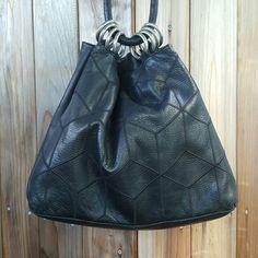 Vintage I Magnin leather handbag Excellent condition, meusures 17x12,drop is 12in.,patchwork I Magnin Bags Shoulder Bags