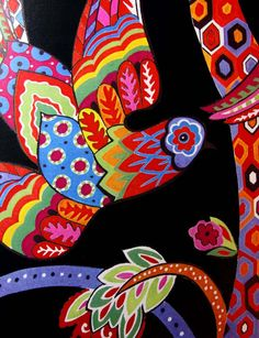 Textile Detail With Latin American Color Pattern Mexican