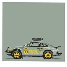 Time to add the 911 to our off-road series. Messing with liveries / colors. Monte Carlo, Porsche 911 Classic, Offroader, Camper, Porsche Cars, Unique Cars, Porsche Design, Subaru Wrx, Automotive Art