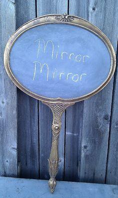 Hand mirror w/no mirror
