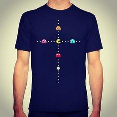 On instagram by martymillar #arcade #microhobbit (o) http://ift.tt/1lEZE08 Your Idol #pacman #namco #retro #retrogamer #slippytee #geek #nerd #clothing #videogames #pixelart #redbubble #society6 #teepublic #8bit #16bit  #gaming #art #design #creative #retrogames #girlgamers #fashion #apparel