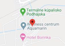 Mapa oblasti penzión U VODNIKA 2 Map, Maps