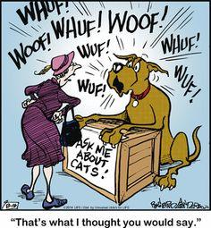 Marmaduke by Brad Anderson Saturday, August 2014 Dog Cartoons, Cartoon Dog, Dog Memes, Funny Memes, Dog Comics, Uncle Scrooge, Bulldog Breeds, Pet Photos, Dog Houses