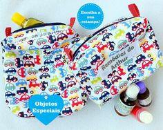d54163e83 Enxoval de luxo  Necessaire de Banho + Porta Remédios. Enxoval personalizado  para bebês.