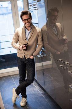 look casual chic homme bonnegueule