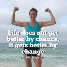 It's not going to happen on its own. Change takes time and effort. But a little bit goes a long way, on step at a time!