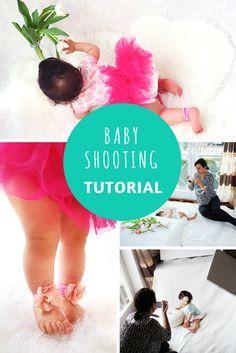 Babyshooting selber machen geht ganz einfach. So könnt ihr wunderschöne indoor Babyfotos machen - Anleitung auf dreieckchen.de