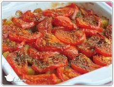 Courgette, pommes de terre et tomates Cuisine Diverse, Oven Dishes, Pasta, Ratatouille, Entrees, Clean Eating, Brunch, Food And Drink, Vegetables