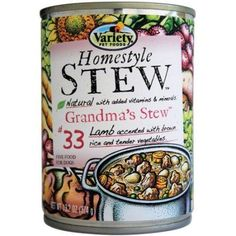 Variety Homestyle 'stew' Grandma's Stew Natural Dog Food, 13.2 oz Can