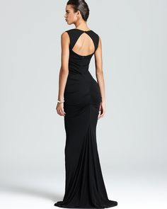 Nicole Miller Gown - Sleeveless Stretch | Bloomingdale's