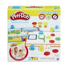 Help your little one learn numbers and counting in a super fun way with this Play-Doh Shape & Learn Numbers & Counting Playset. Learning Shapes, Learning Numbers, Learning Letters, Learning Colors, Motor Skills Activities, Rainy Day Activities, Craft Activities For Kids, Math Skills, Little Tikes