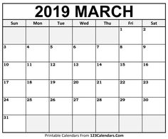 Calendar March 2019 In Pdf, Word, Excel Printable Template March 2019 Calendar Word Related March Calendar Printable, June 2019 Calendar, Free Printable Calendar Templates, 2018 Printable Calendar, Monthly Calendar Template, Print Calendar, Printables, Templates Free, Word Templates