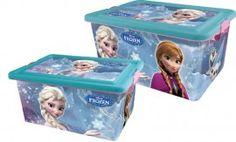 Set Contenitori Portagiochi Disney Frozen