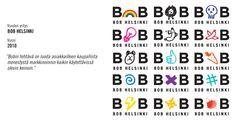 Bobin logon vaihtelua