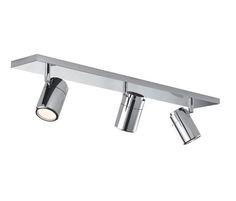 Foco de tres salidas potente para techo LED CONFORT SULION | Comprar focos de techo de LED y diseño moderno con precios economicos #decoracion #iluminacion #focossuperficie #lamparas #led