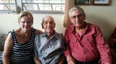 Miguel Angel con Rafo y Vivian 2014