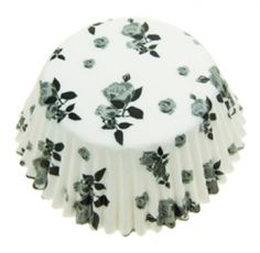 Black & White Flower Cupcake Cases Ideal for fairy cakes, cupcakes and muffins. These paper cupcake cases keep thier shape during cooking and are easy to peel. Pack Contains 60 Black & White Muffin Cases Cupcake Cases, Cupcake Liners, Cupcake Supplies, Baking Supplies, Fairy Cakes, Love Cupcakes, Paper Cupcake, White Flowers, Muffin
