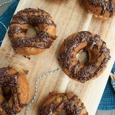 Banana Bread Donuts