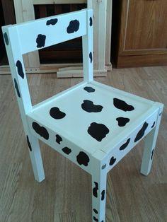 Cute cow print chair :)