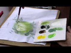 Mulher.com 10/07/2014 - Crisantemo Pintura Tecido por Luis Moreira - Parte 1 - YouTube