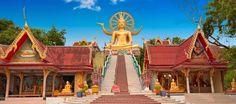14 Biggest Buddhas in Thailand Ko Samui, Go Guide, Phuket, Buddha, Summer Vacations, Travel Guide, Viajes, Thailand