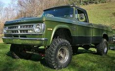 Old 4x4 Trucks For Sale   1993 Dodge Ramcharger 4x4, Canyon Sport Edition, 3 suspension lift ...