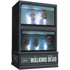 Gruesome Zombie Show Packaging - The Walking Dead Third Season Blu-Ray Set is Quite Disturbing