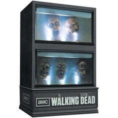 Gruesome Zombie Show Packaging - The Walking Dead Third Season Blu-Ray Set is Quite Disturbing