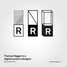 Thomas Ragger logo by Tobias van Schneider http://www.vanschneider.com/