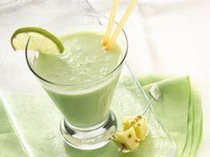 Key Lime-Banana Smoothie (6 oz Key lime pie yogurt  1  ripe banana 1/2  cup milk  1  Tbs lime juice  1/4  tsp dry lemon lime-flavored kool-aid  1  cup vanilla frozen yogurt)