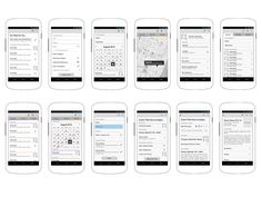 Dribbble - Android App Wireframes by dschultze