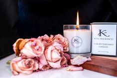 Perfumed Candle by KITA Fragrances