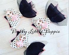 Party girl medium bow
