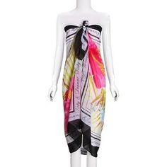 Boho Floral Print Split Cami Backless V-neck Maxi Dress For Women Online - NewChic Mobile.