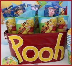 winnie the pooh birthday party ideas -