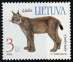 Lithuania - CatsonStamps