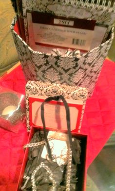 Black Lace gift N a box