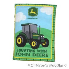 Hey, I found this really awesome Etsy listing at http://www.etsy.com/listing/48543947/soft-cloth-book-john-deere-learn
