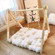 Baby Gym ¡para que no se aburran! Baby Bedroom, Baby Boy Rooms, Baby Room Decor, Baby Boy Nurseries, Nursery Room, Kids Bedroom, Baby Nursery Diy, Diy Bebe, Baby Room Design