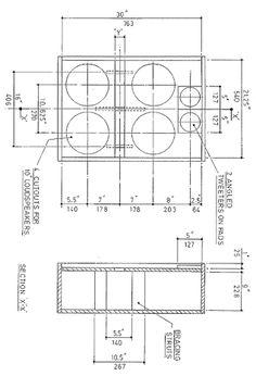 Bildergebnis für mesa rectifier cab plan   Speaker Cabs & Wooden ...