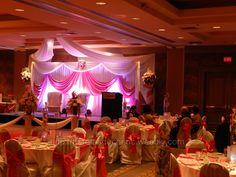 Wedding decoration, banquet hall decoration http://noretasdecorinc.weebly.com