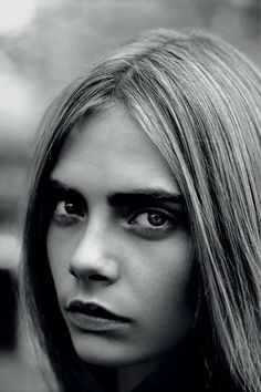 #Beauty #favorites by Merel Zoet - http://merelzoet.com: Cara Delevigne for Industrie Magazine no.6 photographed by Alasdair McLellan