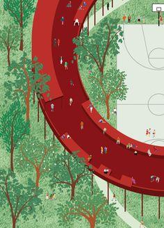 2014 [Viar Estudio Arquitectura] Qianhai Monument Landscape