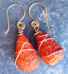 Organic Texture Earrings with Adriana Allen #craftartedu